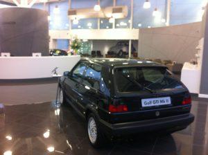 Black Golf Mk2 Rear