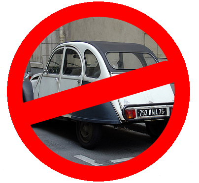 classic cars banned from paris streets. Black Bedroom Furniture Sets. Home Design Ideas