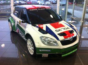 SKODA Fabia Racing Picture
