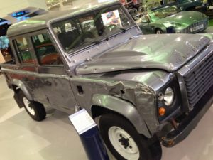 Skyfall Land Rover Defender