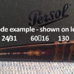 Persol Code Meanings