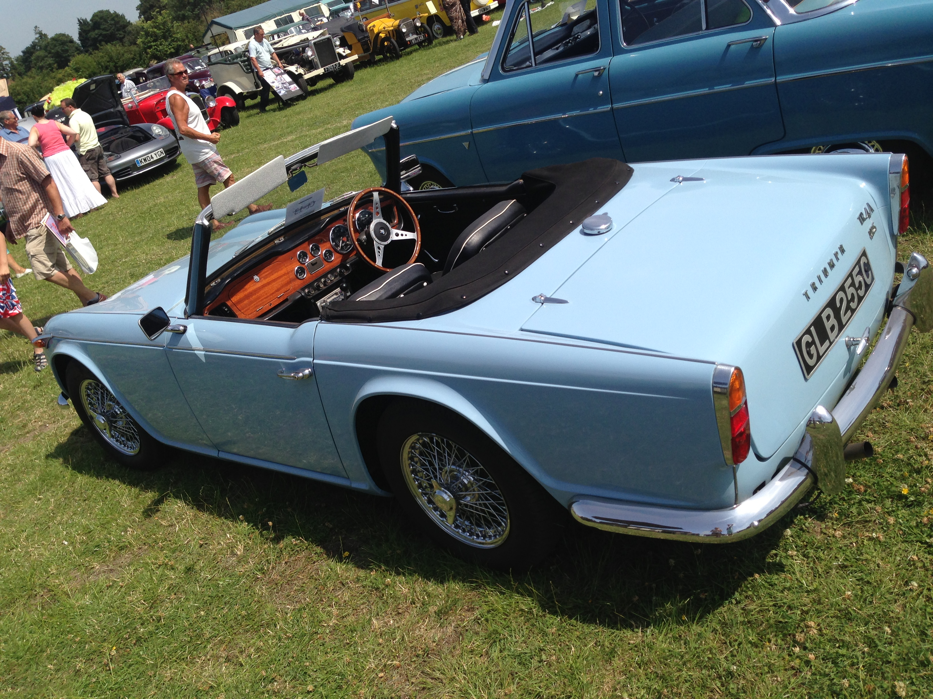 What Are The Best Classic Car Shows In The UK - Car show cars for sale