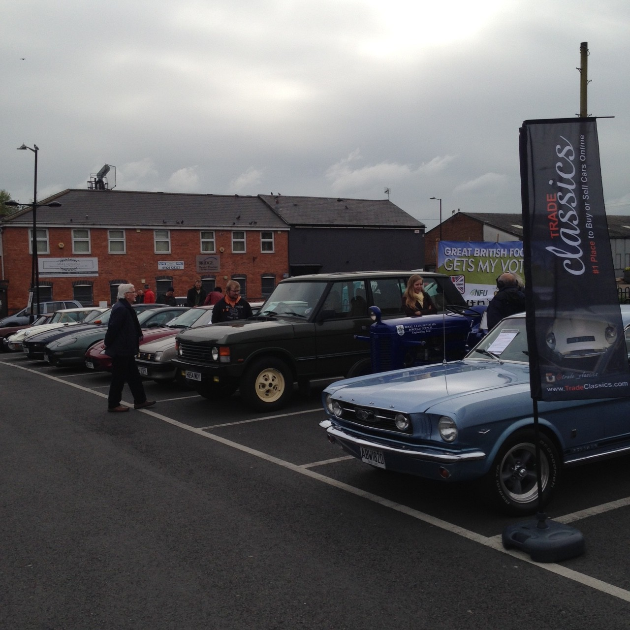 Trade Classics First Classic Car Show in Leamington Spa is a Success |