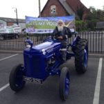 Blue Classic Tractor