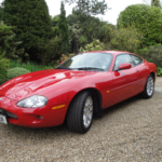 Jaguar XKR Red