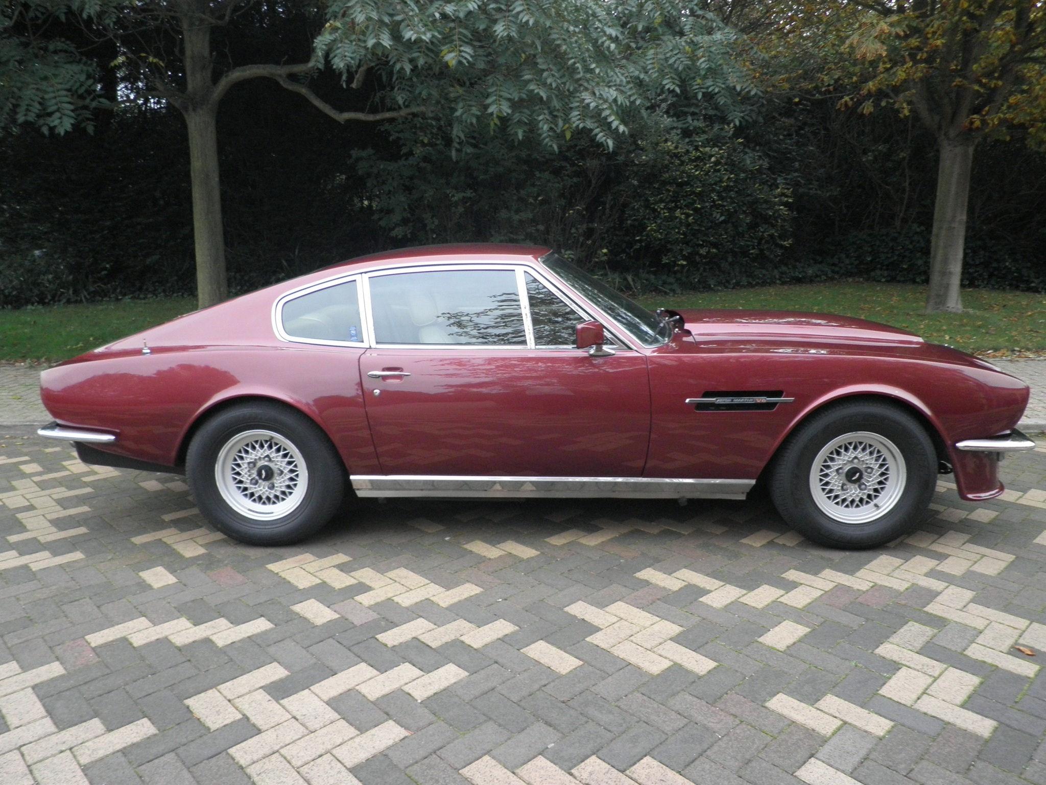 The 1975 Aston Martin V8 Vantage Spec