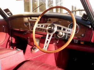 Jensen C-V8 Interior