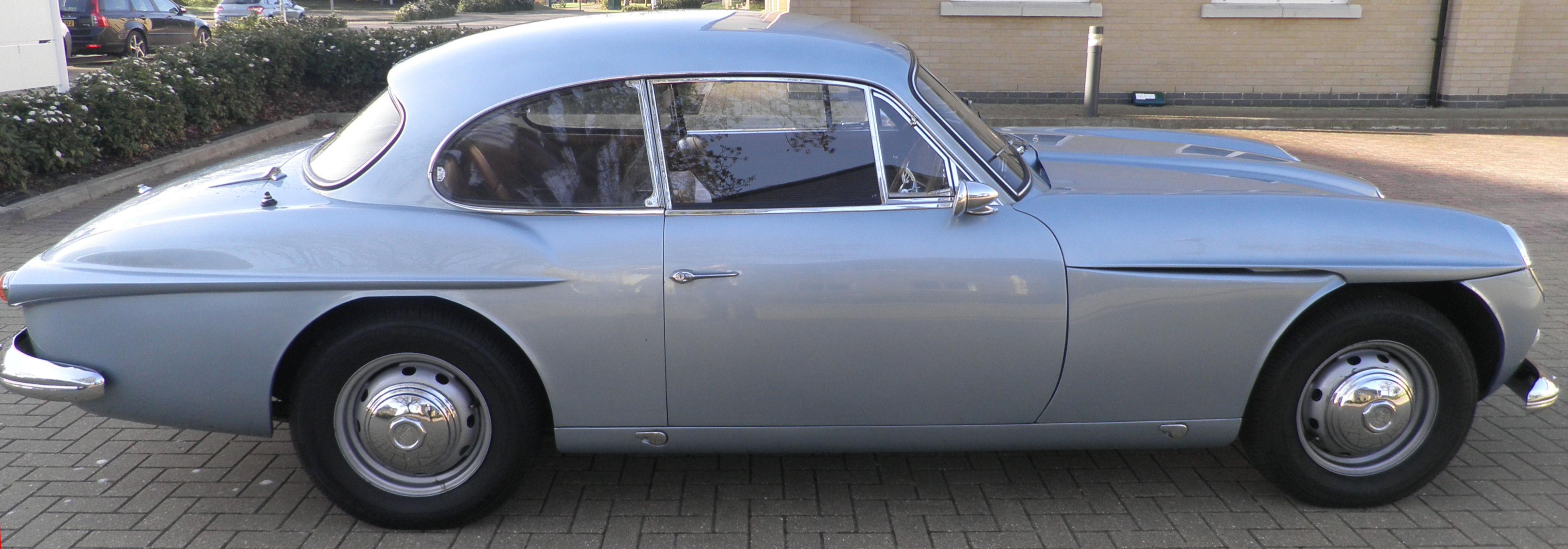 Jensen C-V8 Silver
