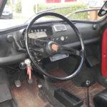Original Fiat 500 Interior