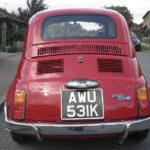 Original Fiat 500 Rear