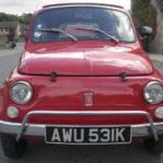 Original Fiat 500 Red