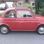 Original Fiat 500 Side