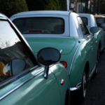 Nissan Figaro Side Shot