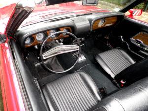 1970 Ford Mustang Convertible Interior