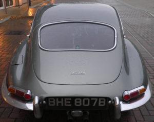 Jaguar Etype Series 1 Rear Picture
