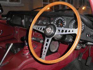 Jaguar Etype Series 1 Red Interior