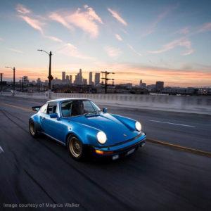 Magnus Walker 930 Turbo Blue