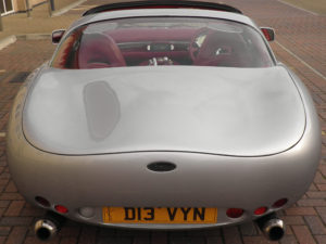TVR Tuscan Rear