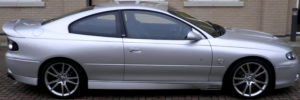 Vauxhall Monaro Side