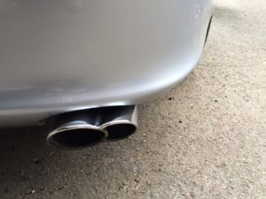 Porsche 996 Tail Pipes