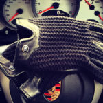 Autodromo Driving Gloves in Black