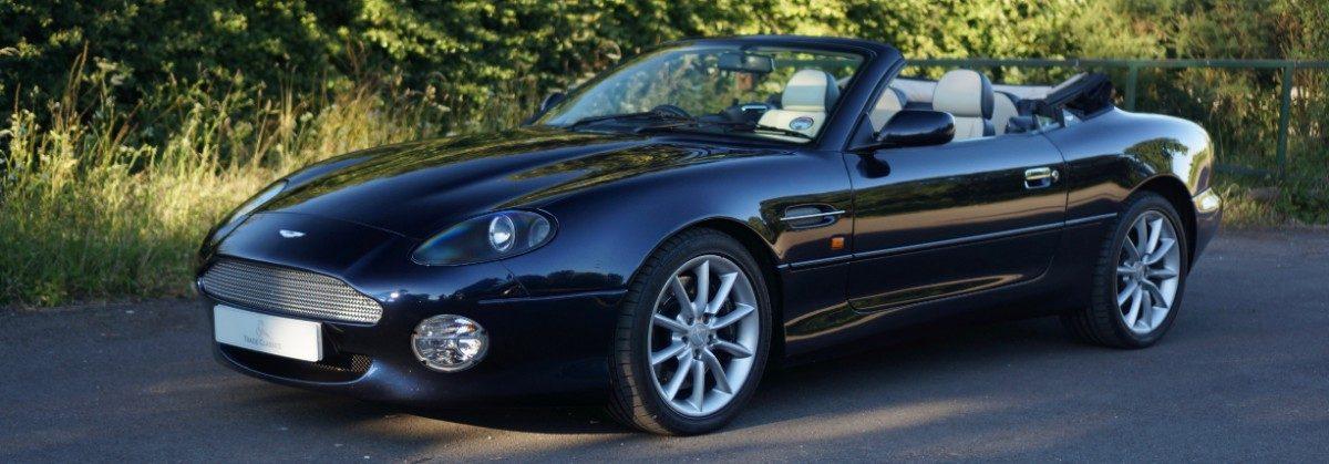2002 Aston Martin Db7 Volante V12